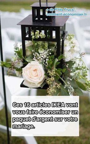 16 Articles IKEA Qui Vont Vous Faire Économiser Sur le Finances Mariage.