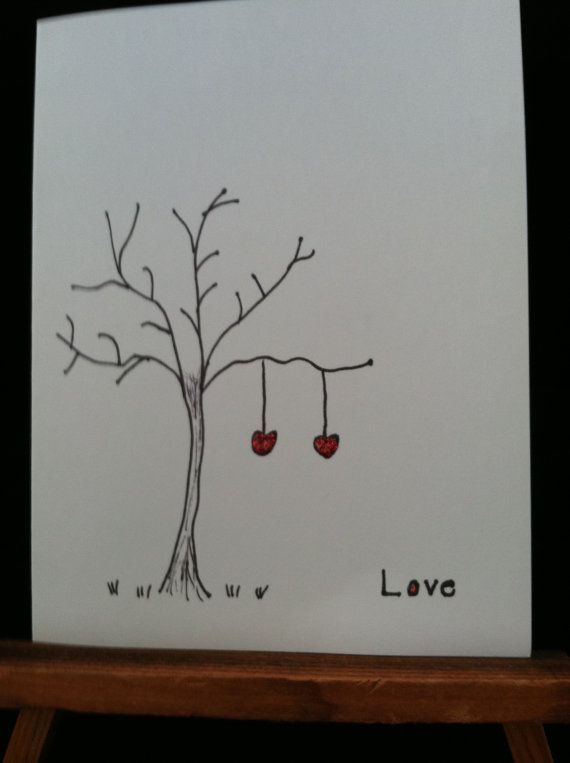 45 best hand drawn personalized greeting cards images on pinterest items similar to handmade hand drawn greeting card on etsy m4hsunfo