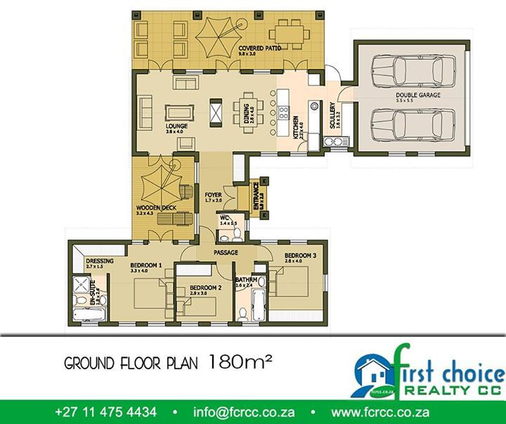 First Choice Realty CC have a variety of designs and sizes of home to choose from. Our Executive House range starts with floor plans of 180m² and can be anything up to 320m². For more information visit http://besociable.link/4g. #housing #property #Gauteng