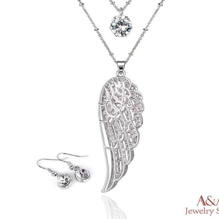 Supernatural Angel Wing Jewelry Set (Free Shipping) – Supernatural-Sickness