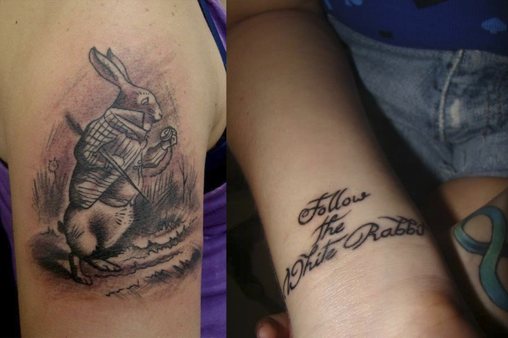 Clandestine Rabbit Tattoo