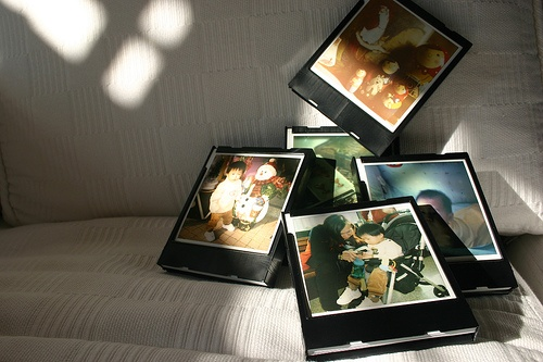 Use Polaroid cartridges for decoration