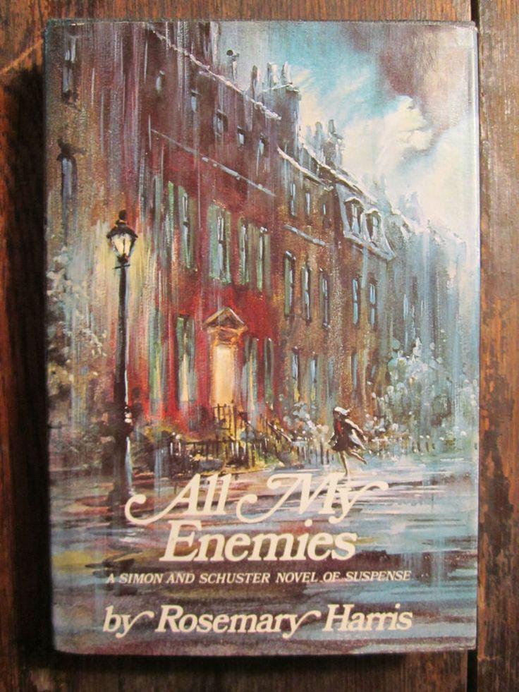 ALL MY ENEMIES by Rosemary Harris 1967 1st US Printing HC/DJ