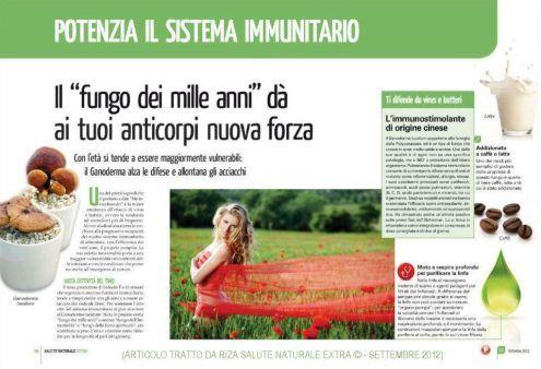 Rafforza il tuo #SistemaImmunitario grazie al #GanodermaLucidum #Reishi. Maggiori info sul Blog http://ganoderma-salute.com