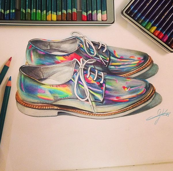Awesome in any dimension. #OMGshoes (http://www.nastygal.com/product/zoe-oxford-silver-hologram/_/searchString/miista)