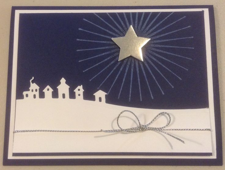 Cynthia McQueen-The Paper Queen www.aCrowningCreation.com Stampin up 2015 Holiday catalog Jingle All the Way, Sleigh Ride Edgelits, craft ink, star framelits, silver foil paper