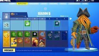 Season 5 Battle Pass Theme Revealed All Season 5 Skins And Theme