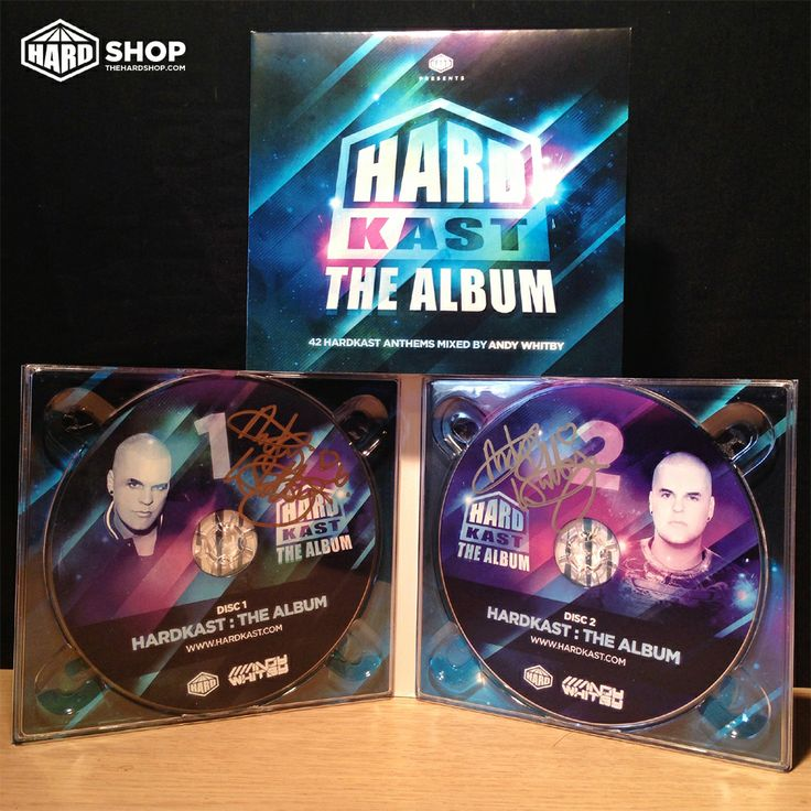 On sale now! 42 tracks, 2 discs - HARDKAST THE ALBUM!