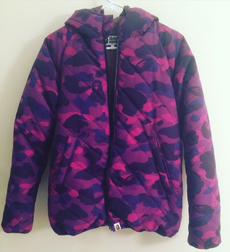 Brand new #bape #abathingape purple #colorcamo zip down jacket size Large. In hand ready to ship. #deadstock #bapeshark #bapeforsale #bape4sale #nigo  #vintage #deadstock #supreme #stussy #clot #neighborhood #nbhd #wtaps #undefeated #kaws #originalfake #10deep #visvim #thehundreds #evisu #carharttwip #fuctssdd #ssur #mmj #mastermindjapan #pyrex #givenchy #offehite #rickowens #supremeforsale  #kenzo #fashion #streetfashion #streetstyle