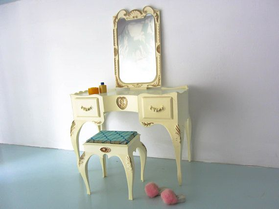 Sindy furniture Dressing table Sindy doll furniture