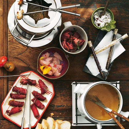 fleisch fondue fondue raclette pinterest fondue. Black Bedroom Furniture Sets. Home Design Ideas