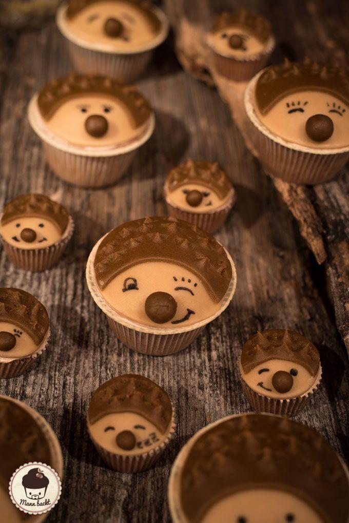 Cupcakes Igel Hedgehog-2