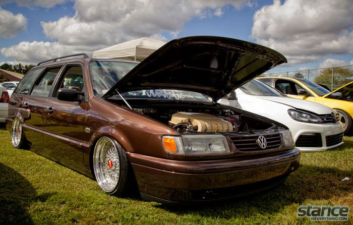passat wagon stance | Stance Is Everything - Event Coverage: H2O International 2013 – Pt ...