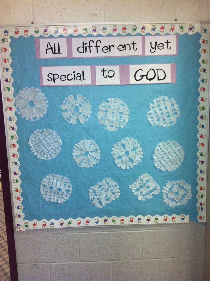 January Bulletin Board Ideas - Special to God