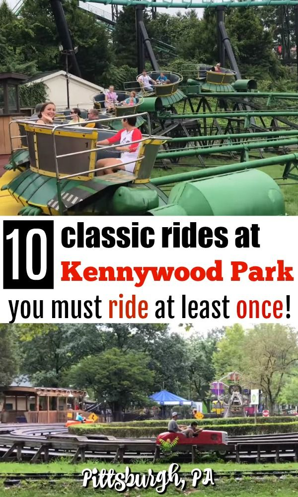 If you love nostalgic theme parks, you'll love Kennywood Park in Pittsburgh, PA - and these 10 classic rides that you must ride at least once!