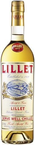 Lillet Blanc (750 ML) A very aromatic and most popular aperitif wine from France; great chilled with a twist of lime or lemon