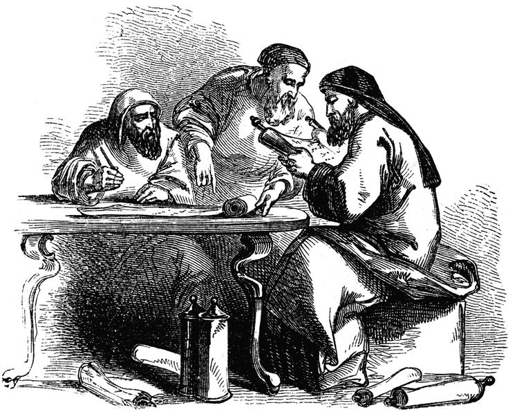 ancient scribes | Scribe | ClipArt ETC