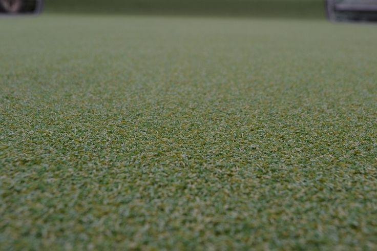 Alfombra de césped Artificial alfombra de corte de cricket de interior