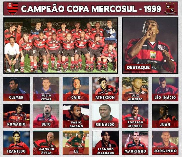Flamengo campeão da Mercosul de 99. em 2020 Campeão