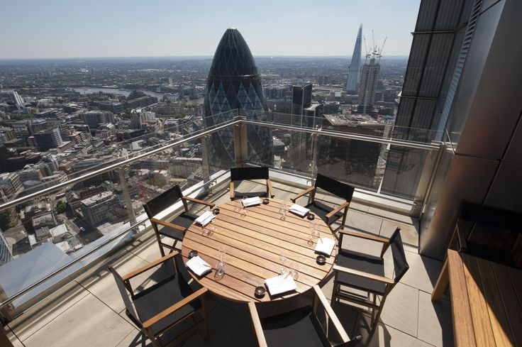 Sushisamba, London. Click the picture for more alfresco dinner and drinks ideas or visit RedOnline.co.uk