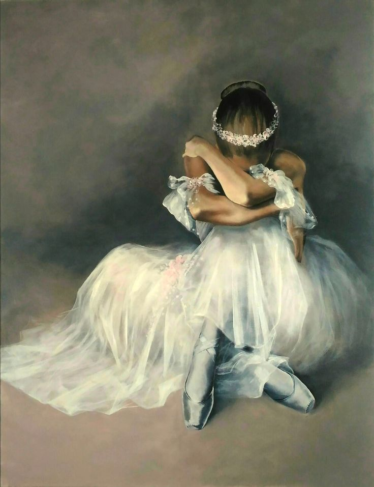 Ballerina, Agata Mikulska-Sienkiewicz,acryl on canvas, 130x100 cm