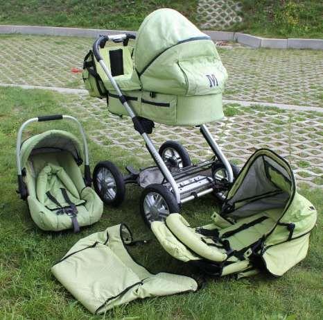 Wózek Mutsy Urban Rider, 3w1 plus torba i akcesoria, okazja Gdańsk - image 1