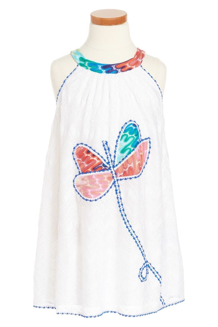 'Abito Patchwork' Knit Dress (Little Girls & Big Girls)