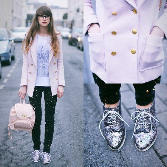 Gold buttons and glitter shoes  BY MICHALINA Z., 20 YEAR OLD FAITHLESS GIRL FROM CHELTENHAM / POLAND