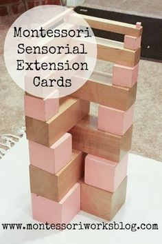 Free Sensorial Extensions from Montessori Works
