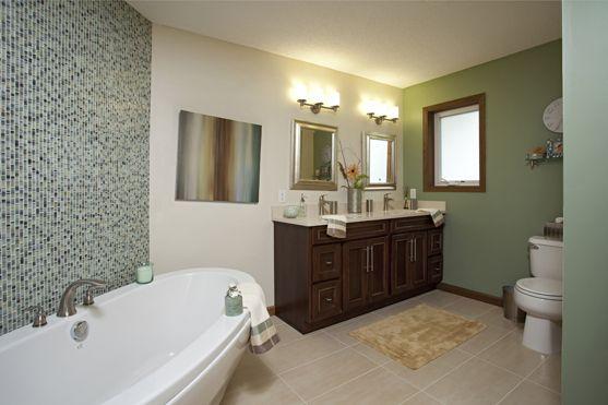 Soft Contemporary Bath   Woodbury, MN