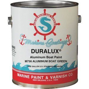 DURALUX ALUMINUM BOAT PAINT is a vinyl-type product which exhibits excellent adhesion to aluminum and metal substrates. There is no need to prime ...