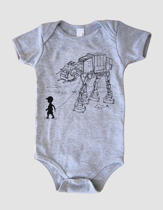 My Star Wars AT-AT Pet - Baby Boy or Girl Onesie Bodysuit (Star Wars Baby Boy)