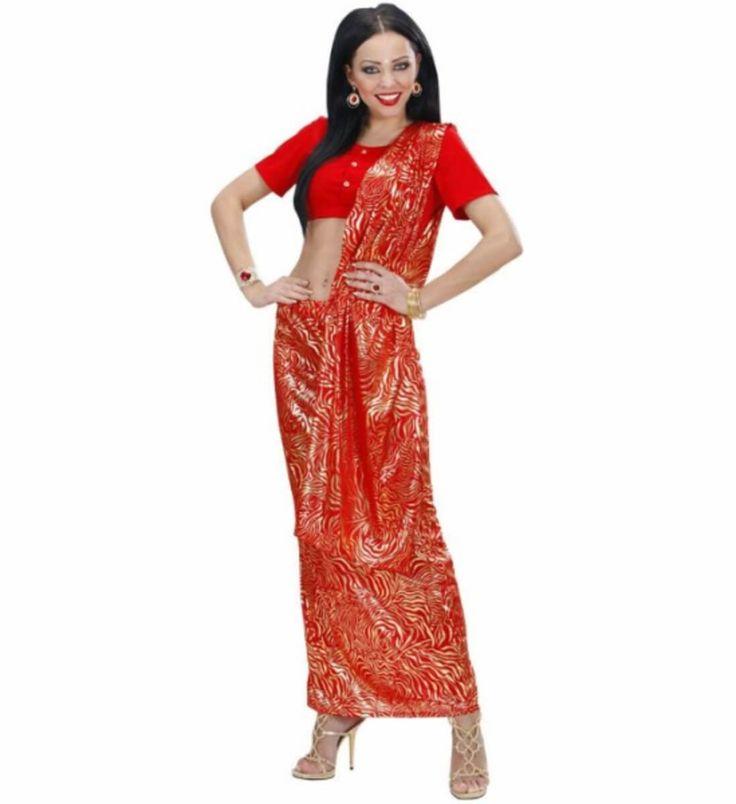 Disfraz de Diva India de Bollywood para mujer
