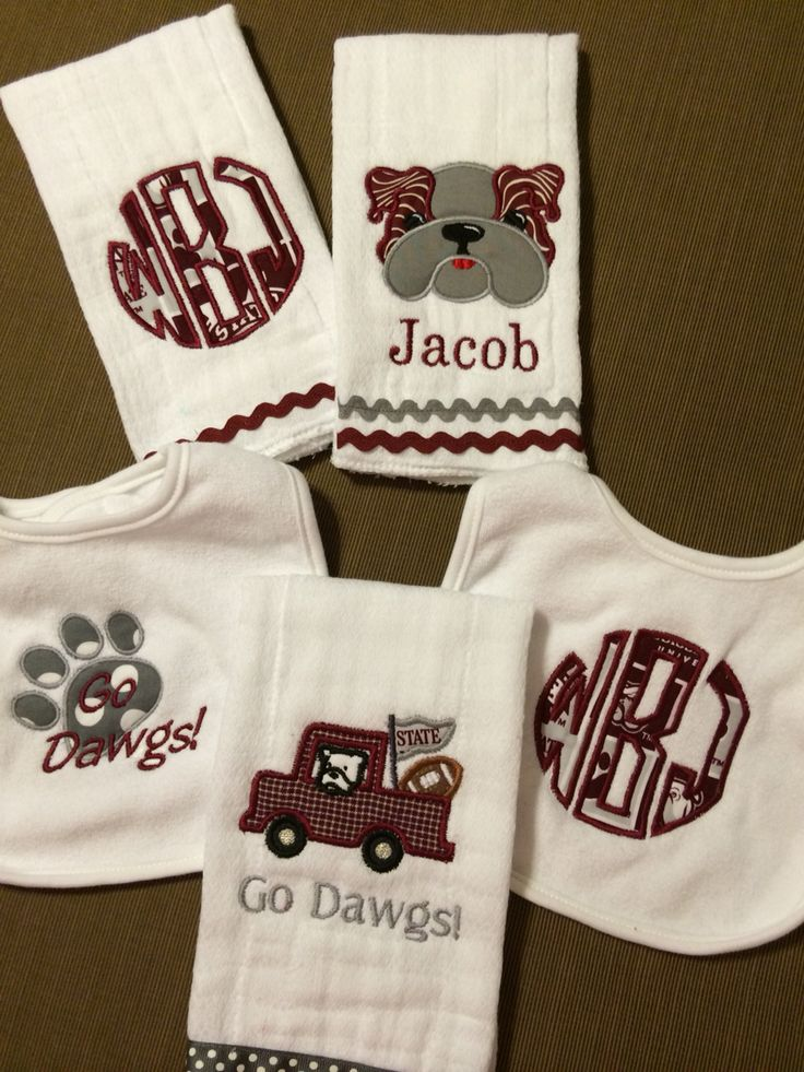 72 Best Mississippi State Bulldog Baby Images On Pinterest