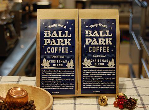 ニュース |  BALLPARK COFFEE で「CHRISTMAS BLEND」& 「LEMON GINGER」11/1(火)発売! | 横浜DeNAベイスターズ