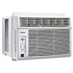 The Danby DAC5200DB Compact Window Air Conditioner is a mid priced window air conditioner that is quiet attractive and compact.