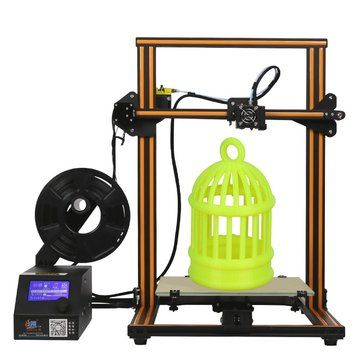 Creality 3D® CR-10 DIY 3D Printer Kit 300*300*400mm Printing Size 1.75mm 0.4mm Nozzle Brand: Creality 3D  4.8(357 Reviews) | 23 answered questions Product ID: 1085645 $380