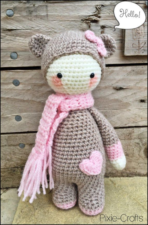 Crochet Mini Doll Pattern : lalylala mods free download - Google zoeken Haken/breien ...