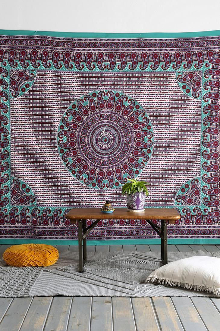 Magical Thinking Center Medallion Tapestry #urbanoutfitters