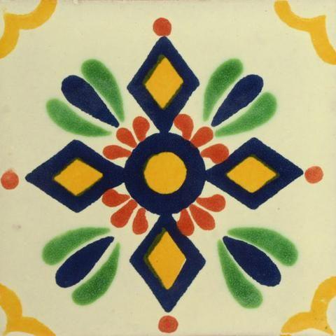 Traditional Deorative Mexican tile - Zapopan