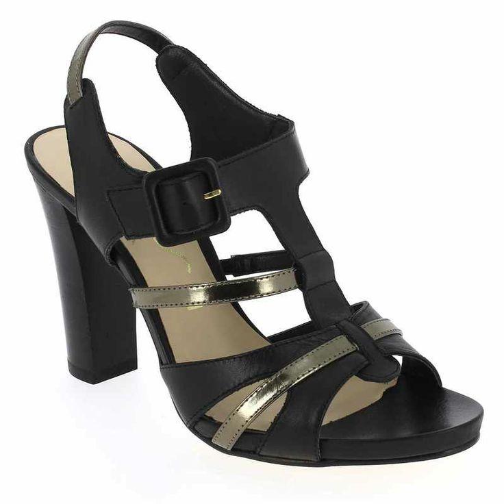 Chaussure Unisa YACAN Noir pour Femme | JEF Chaussures