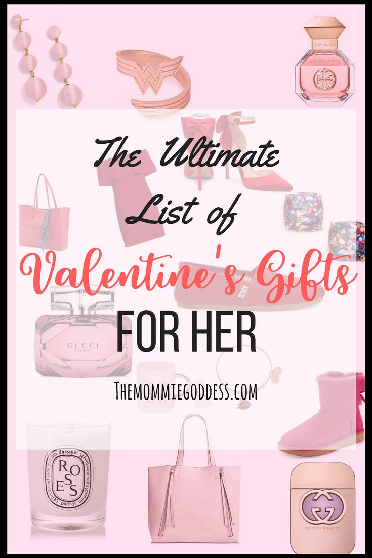 Want to make this Valentine's Day one your goddess will never forget? Click here to see the ultimate list of Valentine's Day Gifts That she will adore. Hint: not all of these Valentine's gifts can be purchased. Text or email this list to your husband for a hint.
