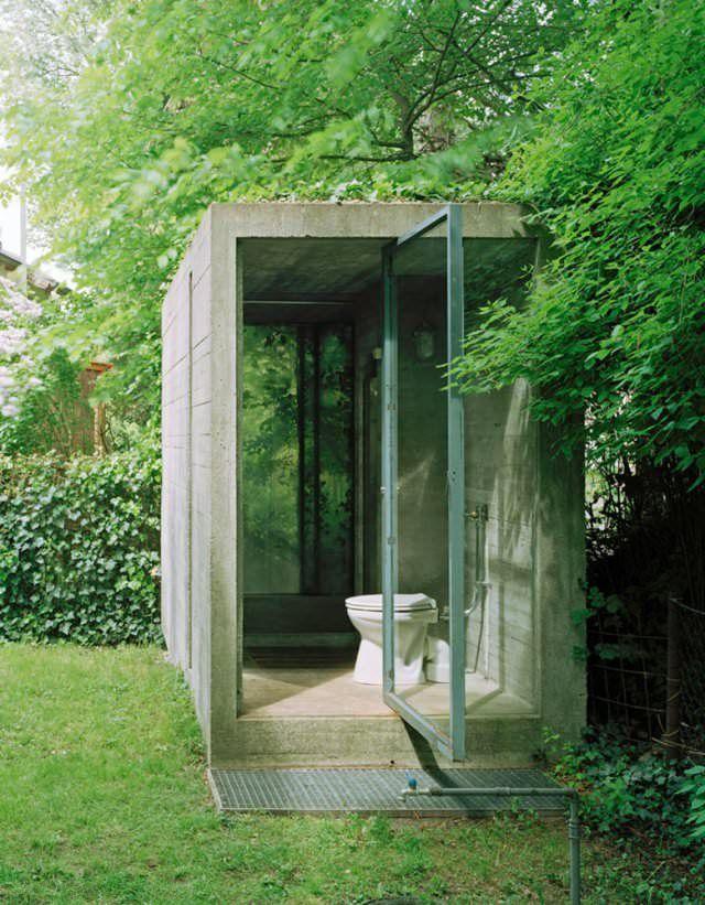Toilets In The Garden Outdoor Toilet Outside Toilet Garden