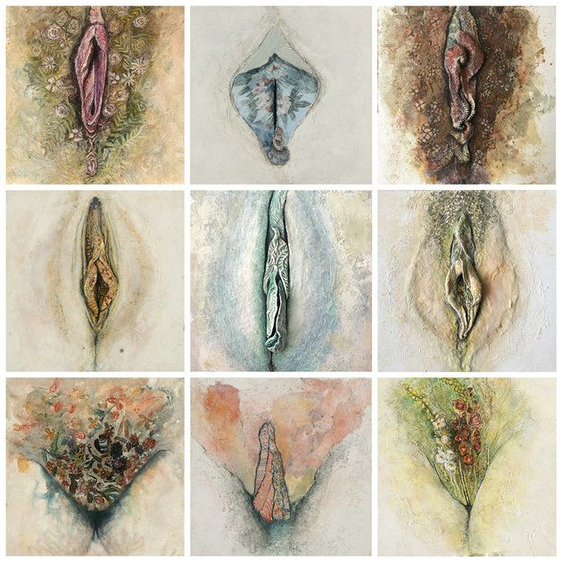 Artist's Unapologetic Vagina Paintings Are A Force Of Body Positivity The Huffington Post