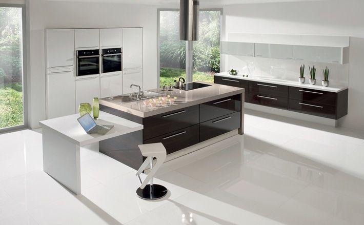 Salle De Bain Carrelage Parquet : Gorenje dans une cuisine design  #design