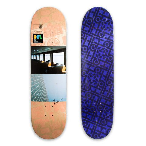Blue Tile X Habitat Deck 8.25