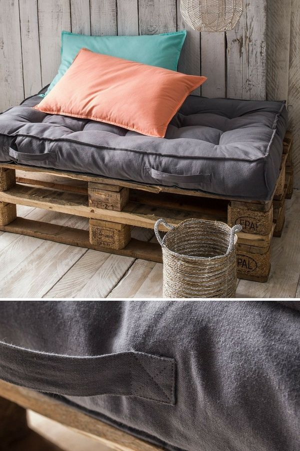 11 Idées de Meubles Confortables à Fabriquer Avec des ...