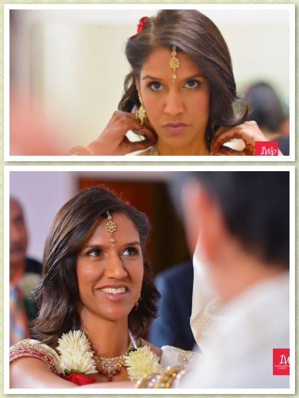 Indian Wedding. Bridal Hair and Makeup by Makeup for Your Day.  Photo courtesy IWP Photography.