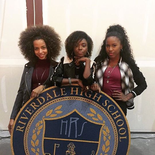 """CW's 'Riverdale' Josie & The Pussycats """" Riverdale High Life"""" (via iamamurray ) Ashanti Bromfield, Ashleigh Murray and Irie Hayleau . Get the comics here[ Follow SuperheroesInColor on facebook /..."""