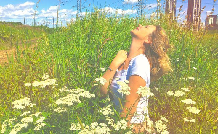 Фотосессия в траве